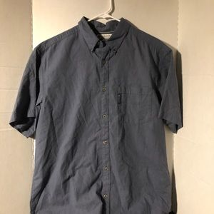 Columbia Mens Large Button Down Shirt